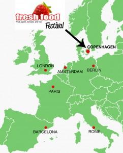FFF på kort i Europa