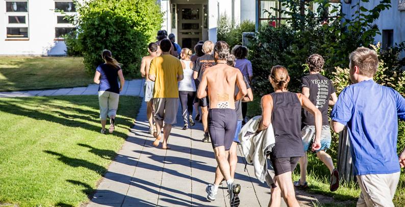 Fitness-running outside