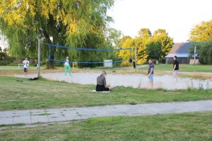 Fitness-volleyball