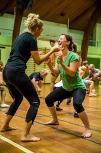 Fitness-sportshall pushing 2