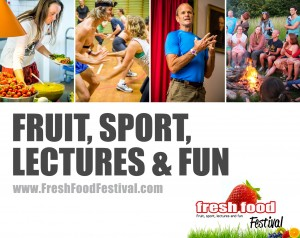 FFF Fruit, sport, lectures and fun