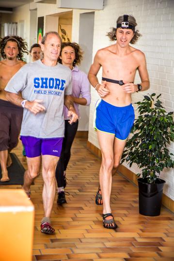 Fitness-Running i corridor